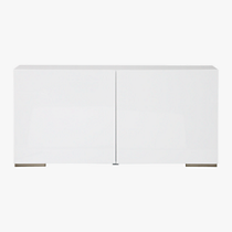fuel white credenza