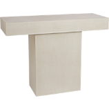 fuze ivory console table