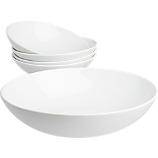 5-piece galaxy pasta bowl set