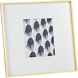 gallery 8x10 brass picture frame
