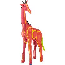 giraffe scul