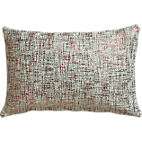 "glitterati mint 18""x12"" pillow"