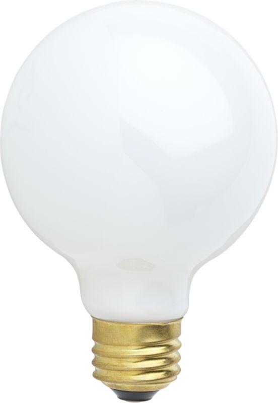 globe 60W light bulb