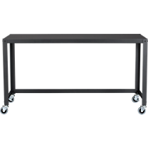 go-cart carbon console table