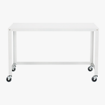 go-cart white desk