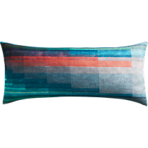 "gradient 36""x16"" pillow"