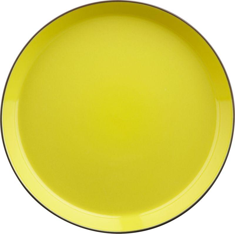 grass roots dinner plate