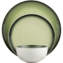 green light dinnerware