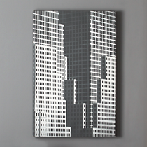 grid buildings print