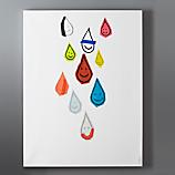 happy drops print