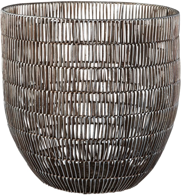 heavy metal large basket