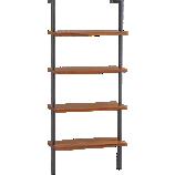 helix acacia bookcase