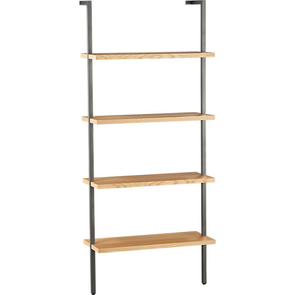 HelixWhtOakBookcase3QS11