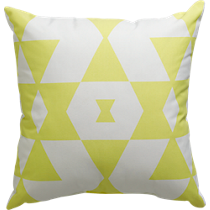 "hello yellow 18"" pillow"