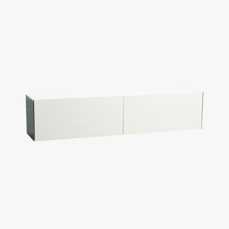 hide n' seek storage shelf | CB2