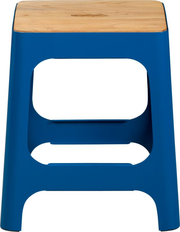 hitch peacock blue stool