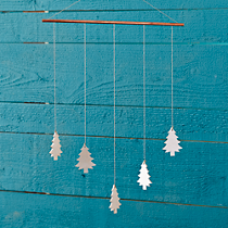 holiday tree wall art