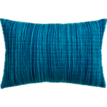 """hombre blue 18""""x12"""" pillow"""