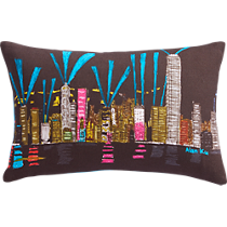 "hong kong 18""x12"" pillow"
