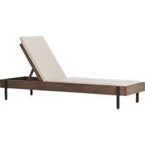 horizon outdoor chaise lounge