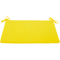 humpback yellow lounge chair cushion