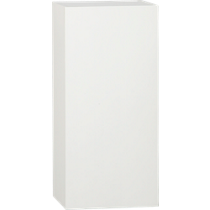 hyde white 30&quot; wall mounted cabinet