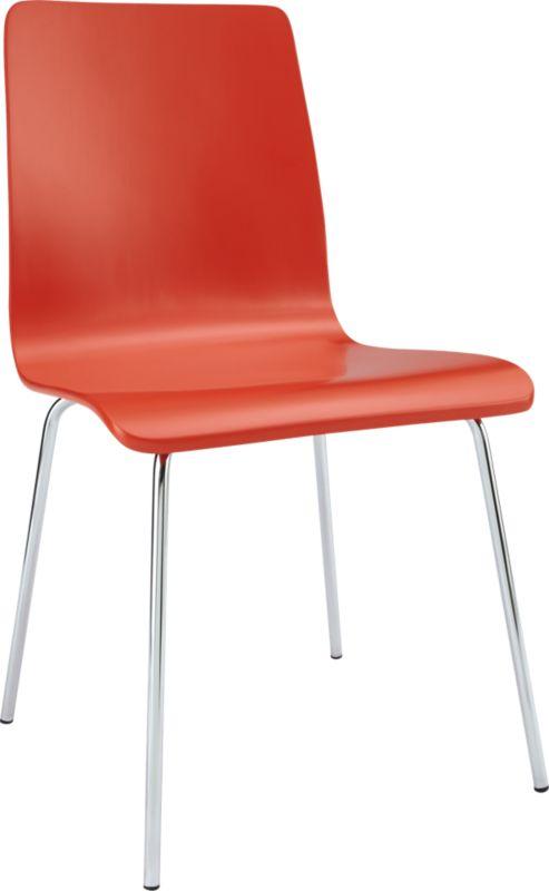ideal orange chair