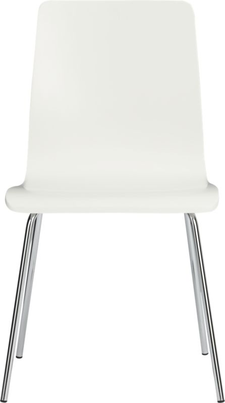 ideal white chair