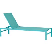 idle aqua sun lounger