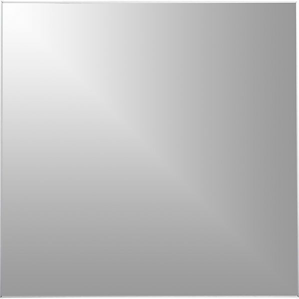 "infinity 31"" square mirror | CB2"