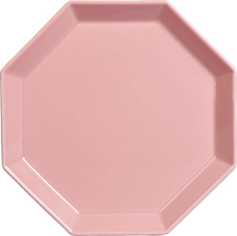 intermix pink plate