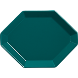 intermix blue-green plate