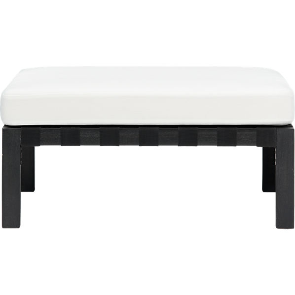 islita ottoman cover in outdoor furniture | CB2