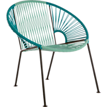 ixtapa blue outdoor lounge chair