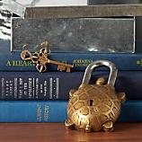kachua brass lock