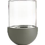glass-ceramic large grey lantern