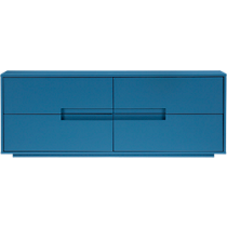 latitude slate blue/grey low dresser