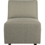 layne armless sectional chair