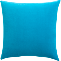 leisure blue 23&quot; pillow