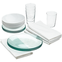 lens dinnerware set