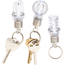 lightbulb keychain