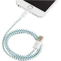lightening white cable