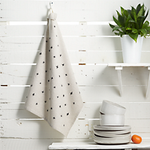 plus tea towel natural