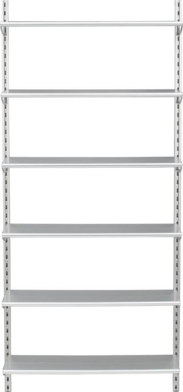 link aluminum shelving system