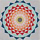 lotus rug 6'x6'