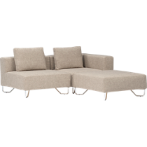lotus natural sectional pieces
