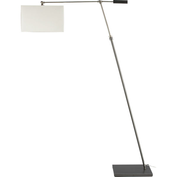 big dipper arc floor lamp in floor lamps | CB2
