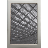 stainless steel magnetic 4x6 picture frame
