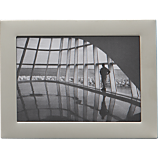 stainless steel magnetic 2.5x3.5 picture frame