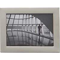 "stainless steel magnetic frame 2.5""x3.5"" photo"